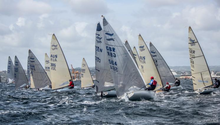 350 Finn Masters prove Finn sailing is sport for life