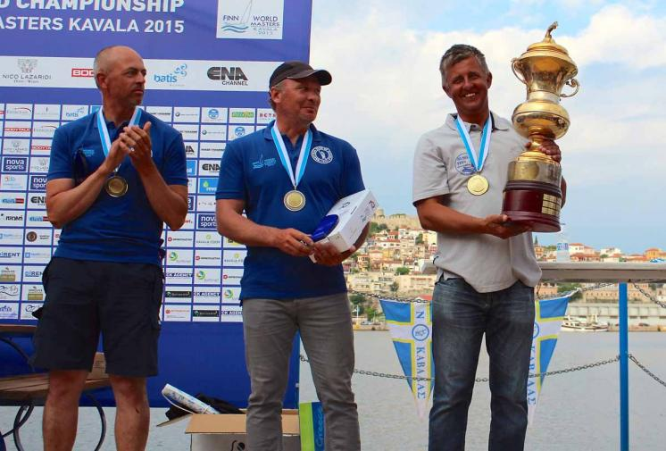 Vladimir Krutskikh secures first Finn World Masters title in Kavala